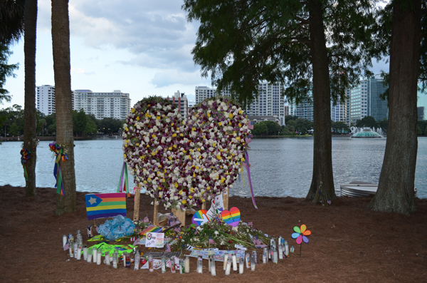 Lake Eola heart