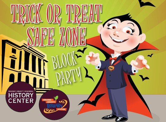 Trick or Treat Safe Zone