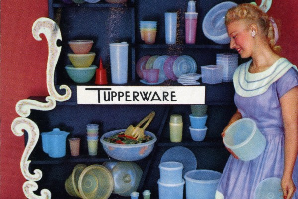 tupperware postcard