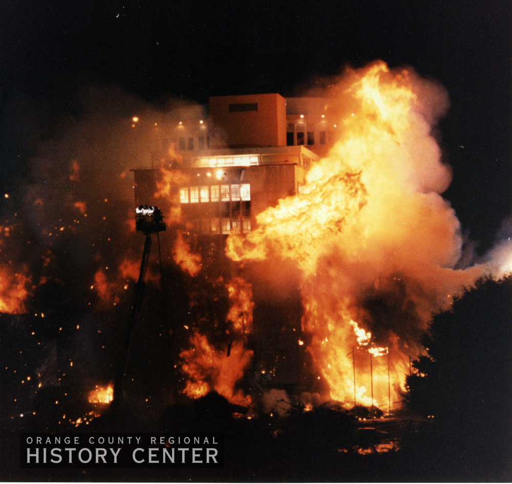 Orlando City Hall Implosion, October 24, 1991