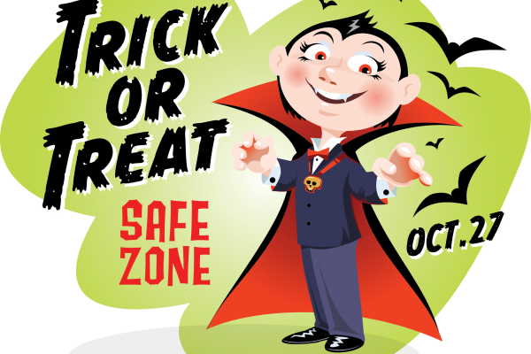 Trick or Treat Safe Zone 2018