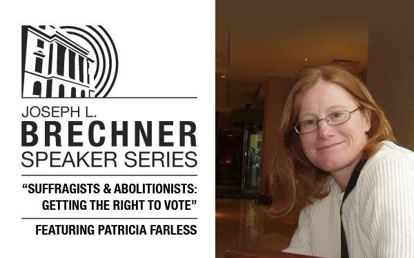 Brechner Series talk: Suffragists & Abolotionists
