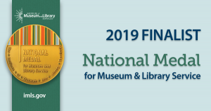Institute of Museum and Library Services finalist