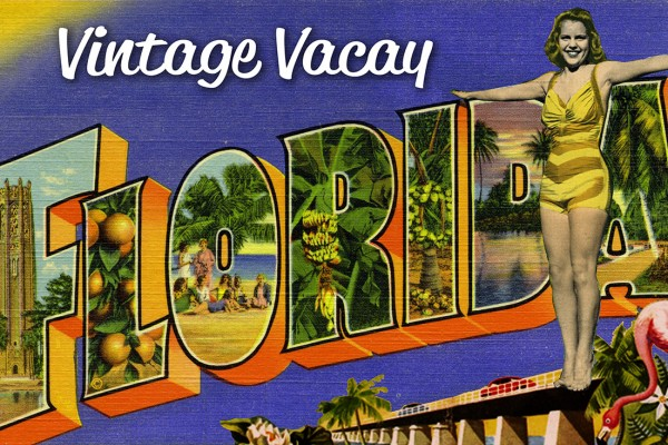 Slip some sandals over your socks, clip on your fanny pack, and join us for a vintage vacay in sunny Central Florida!