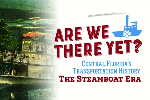 Graphic showing steamboat era in Florida