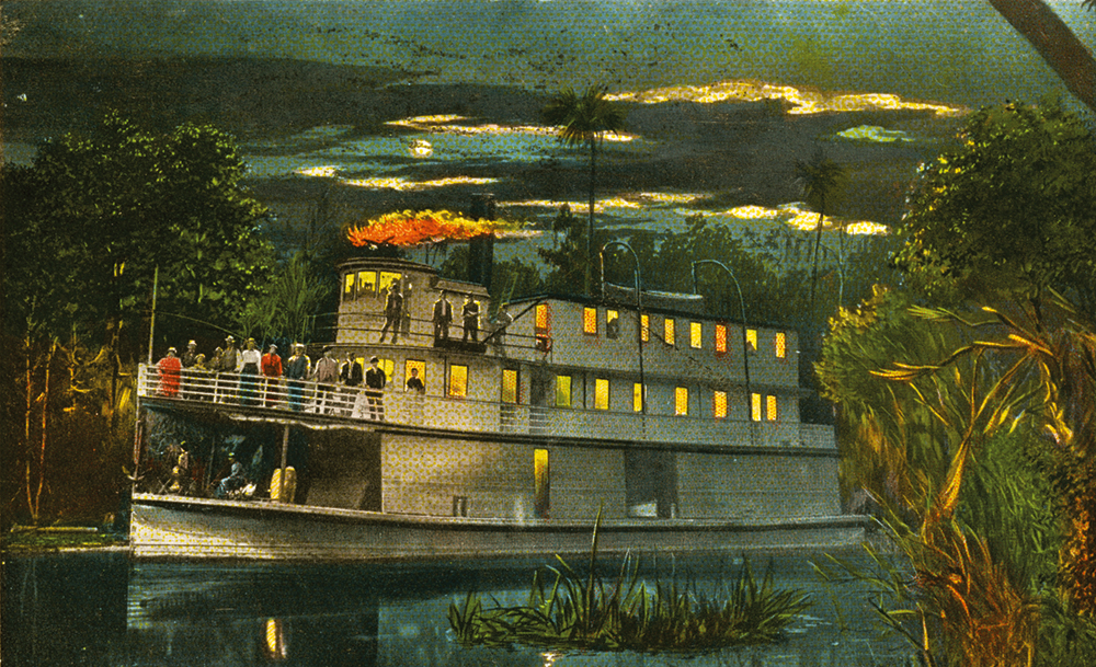 The arrival of steamboats on the St. Johns River was an important development on Central Florida transportation history.