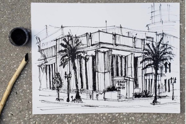 Ink & Twig: Capturing Brutalist Architecture in Urban Sketch