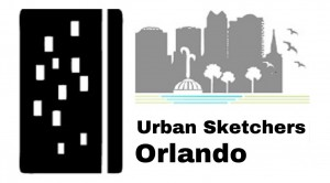 Urban Sketchers Orlando Logo