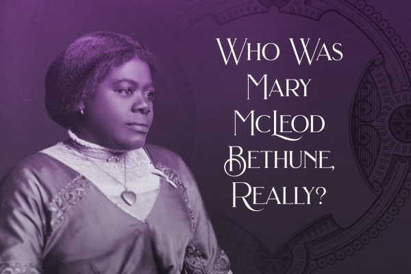 The History Center and the League of Women Voters of Orange County, Florida Present  The Inaugural Women's History Month Breakfast Thursday, March 12, 8:30 a.m.  Who Was Mary McLeod Bethune, Really?