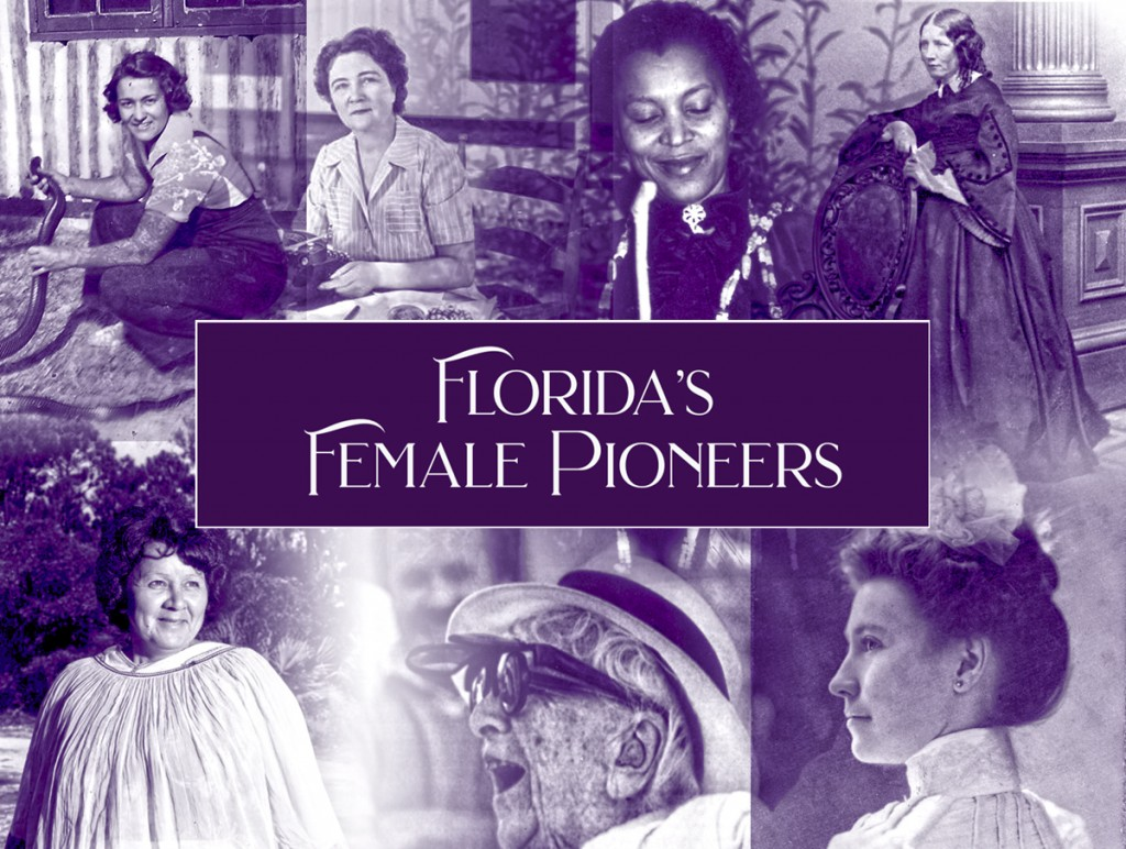 Collage of Florida's Female Pioneers