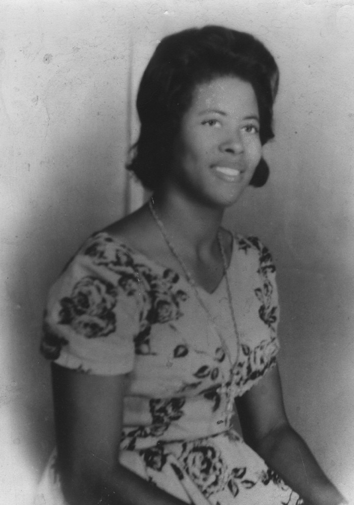 Black and white photo of Mary Ann Carroll