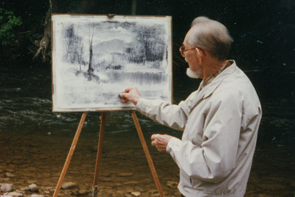Illuminating Art Legend Ralph Bagley