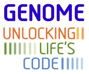 GENOME exhibit logo
