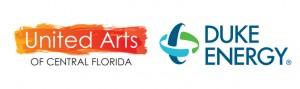United Arts and Duke Energy logos