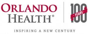 Orlando Health 100 Years logo