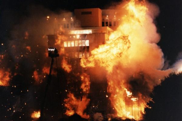 Orlando City Hall Implosion, October 24, 1991