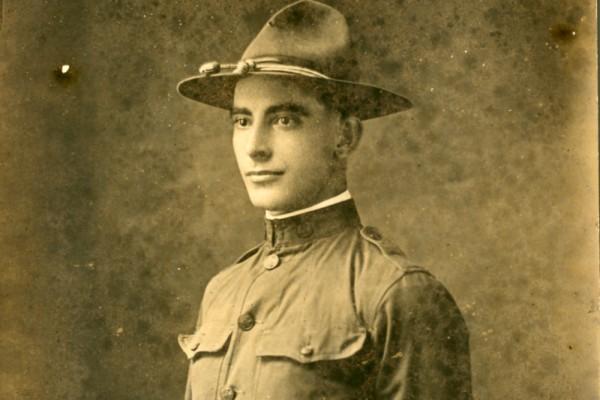 Claude White in Uniform