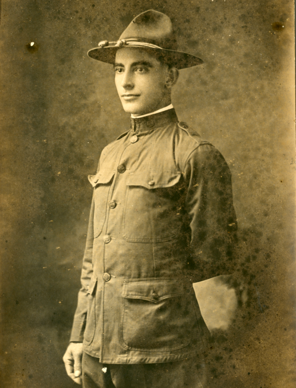 Claude White in Uniform