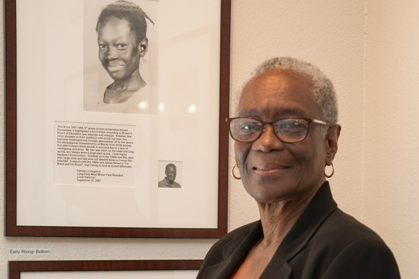 Historical Society of Central Florida 2019 Donald A. Cheney Award recipient Fairolyn Livingston.
