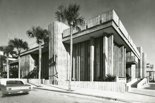 John Johansen-designed Orlando public library