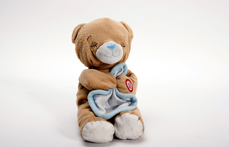 Pulse Memorial Object - Stuffed Teddy Bear Holding Blanket