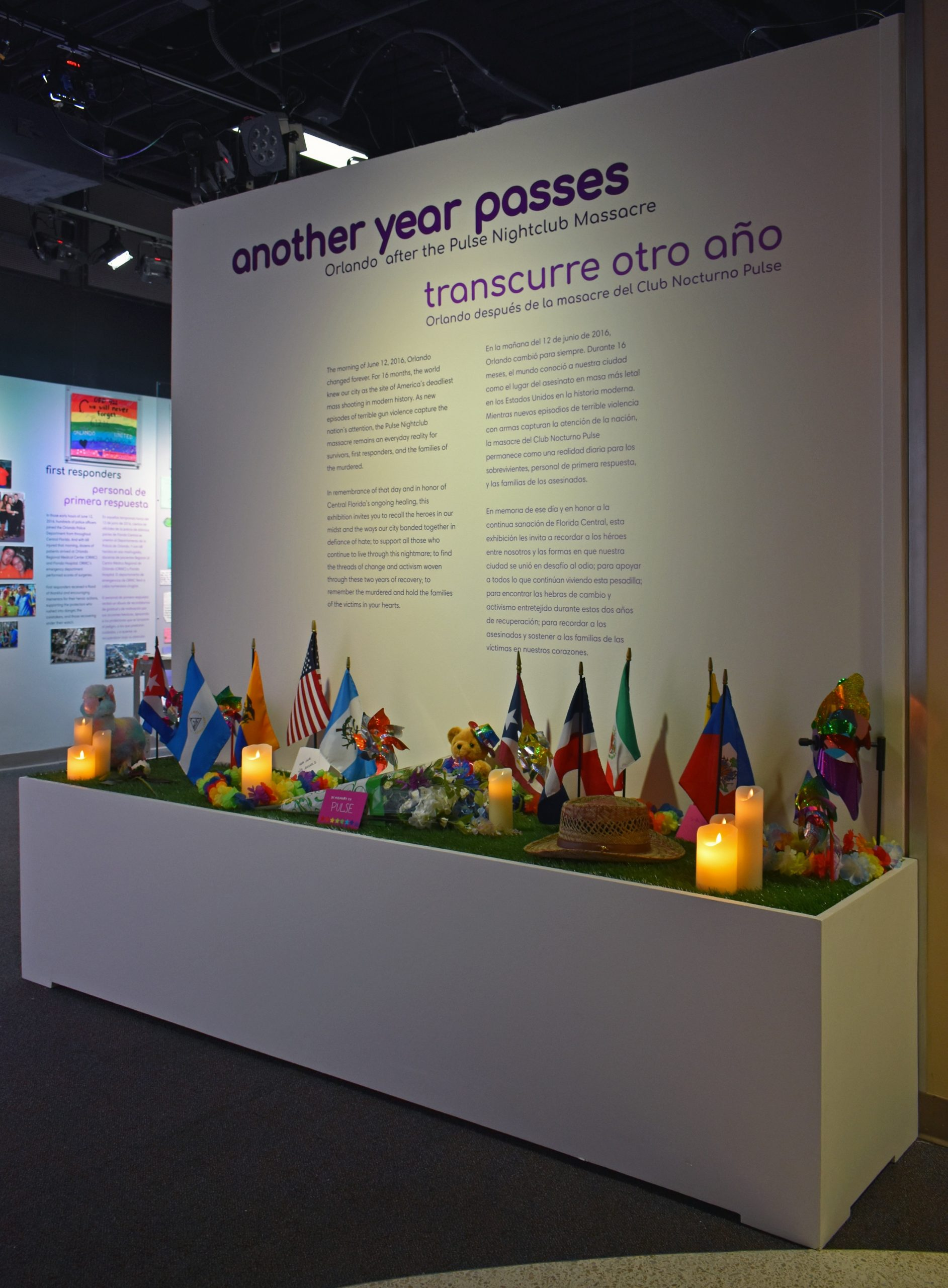 Another Year Passes Exhibition Introduction