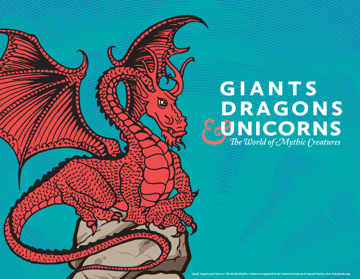 Giants, Dragons & Unicorns: The World of Mythic Creatures