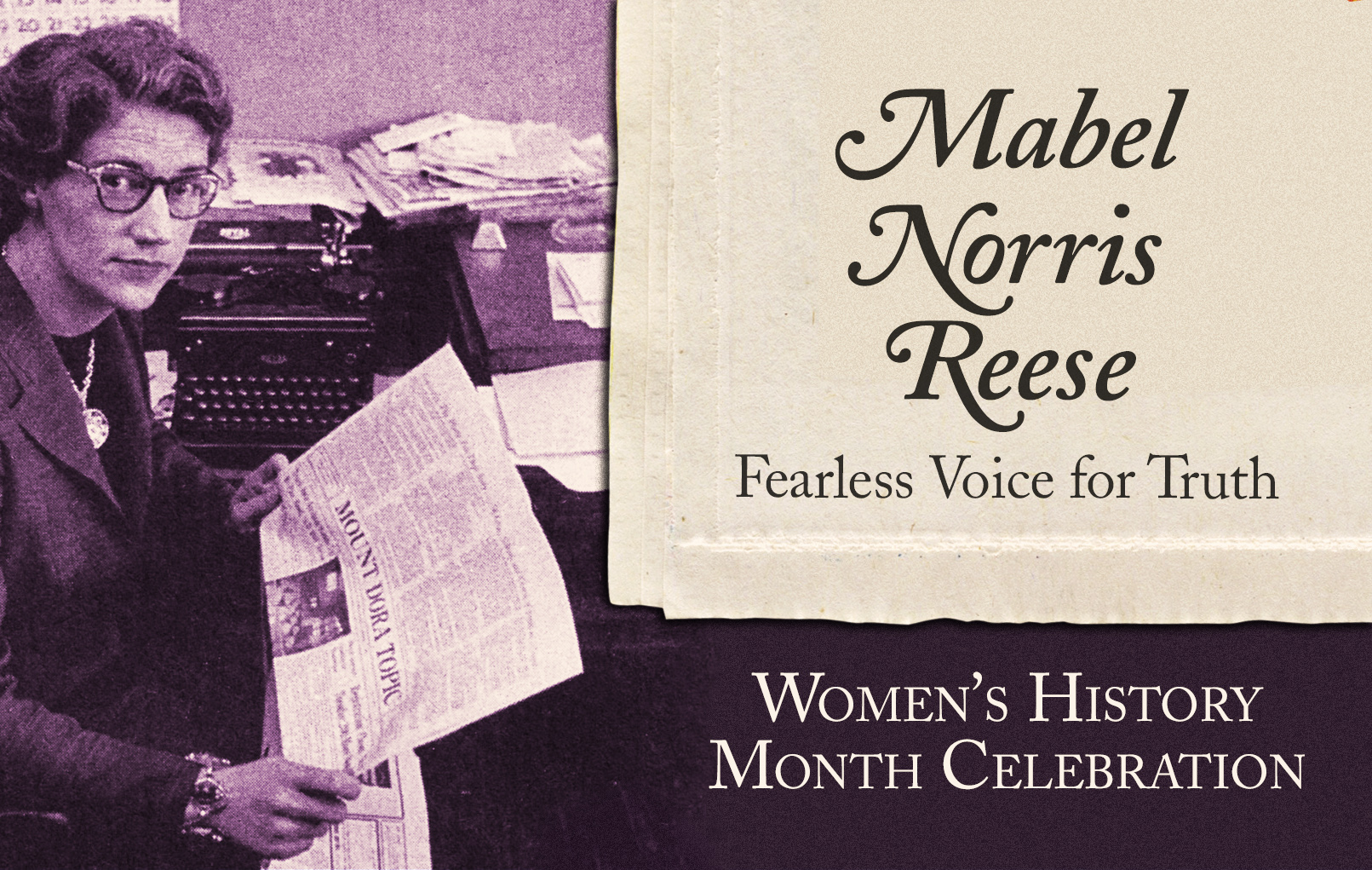 Mabel Norris Reese: Fearless Voice for Truth