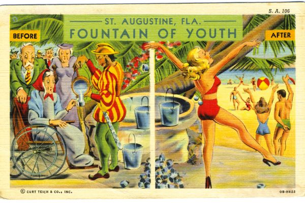 Lunch & Learn – Finding the Fountain of Youth: The Truth Behind the Myth